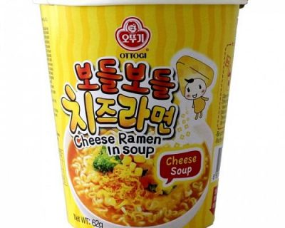 Ottogi Cheese Ramen In Soup