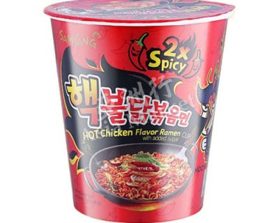 Samyang 2x Spicy Hot Chicken Cup Ramen 70g