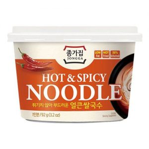 Jongga Hot and Spicy Flavoured Noodle