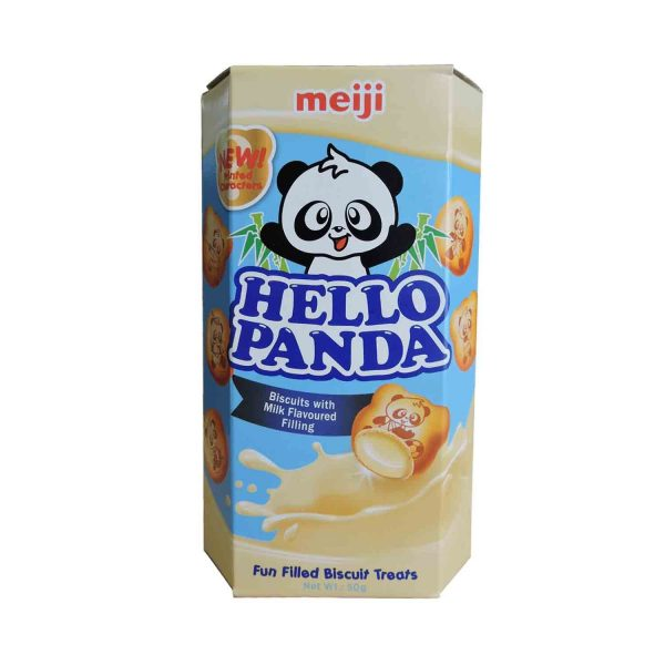 Hello Panda Biscuits With Milk Flavoured Filling