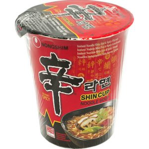 nongshim shincup spicy noodle