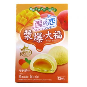yuki and love mango mochi
