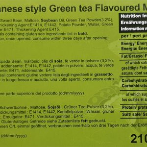 Japanese Green Tea Mochi info