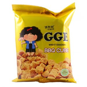 GGE Noodle Snack Wheat Crackers BBQ Cube