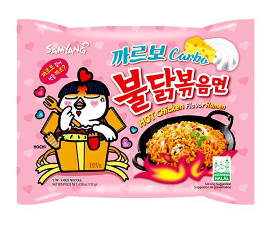 Samyang Carbo Hot Chicken Ramen