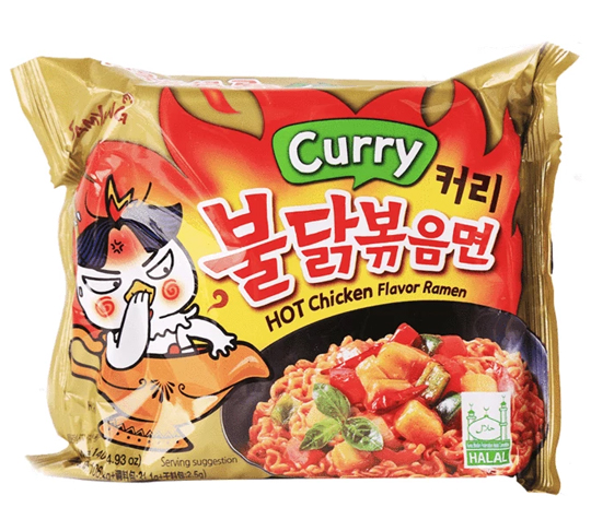 Samyang Curry Hot Chicken Ramen